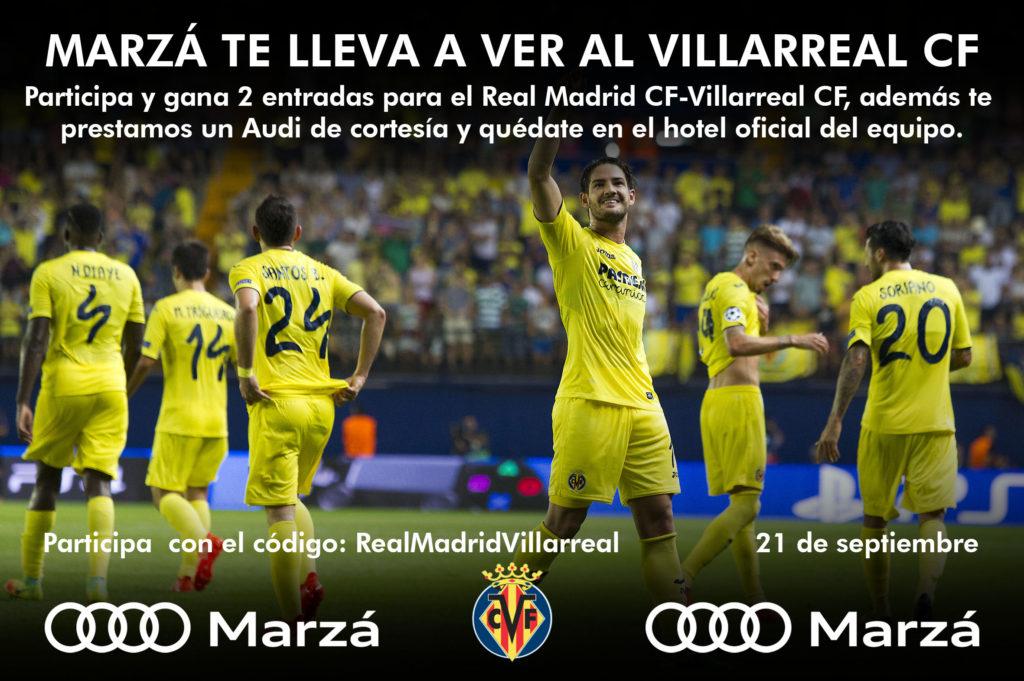 Si eres abonado del Villarreal CF te lo ponemos fácil para seguirlo allá donde juegue!