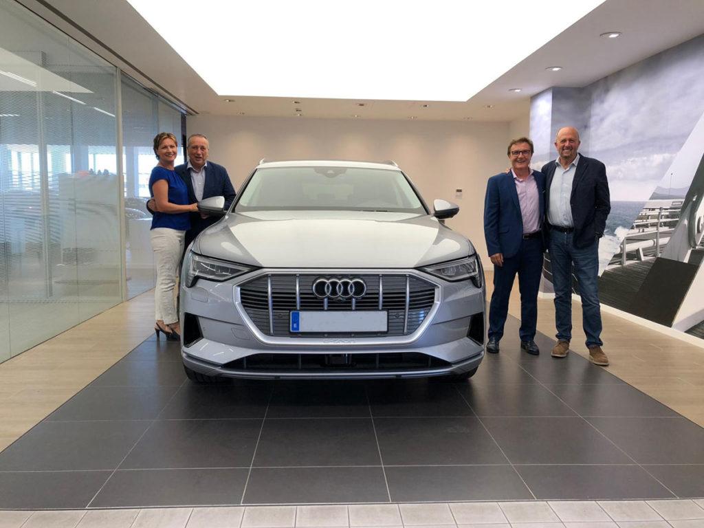 Pamesa y Villarreal C.F apuestan por el vehículo eléctrico